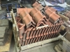 20 inch long ridge tile 10 in. wide at the bell exterior