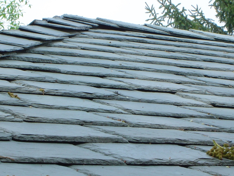 Permanent Green Vermont slate extra thick